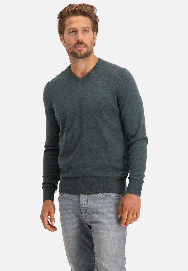 Sweater - dark green/midnight
