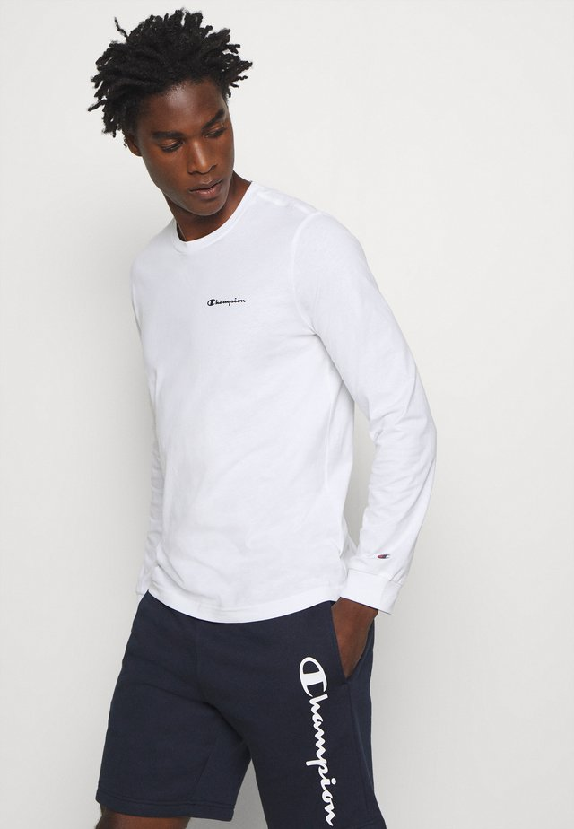 LEGACY LONG SLEEVE CREWNECK - Long sleeved top - white