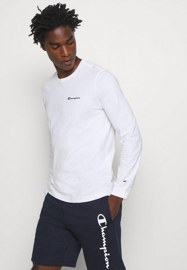 LEGACY LONG SLEEVE CREWNECK - T-shirt à manches longues - white