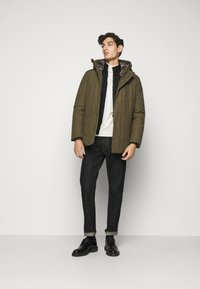 Save the duck - COPY - Winter jacket - thyme green - 1