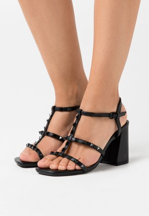 STAFFY - High heeled sandals - black
