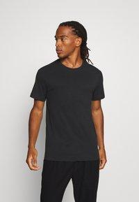 Weekday - T-shirt - bas - black - 0