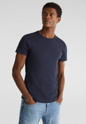 RIPP-SHIRT AUS 100% BAUMWOLLE - Basic T-shirt - navy