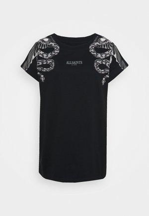 SNAKEEAGLE IMO BOY TEE - T-shirts med print - black