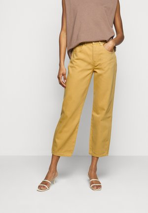 THE TIMMY HIGH RISE STRAIGHT  - Jeans a sigaretta - gold rush