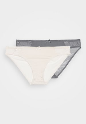 ZARA BRIEF 2 PACK - Underbukse - grey/pink