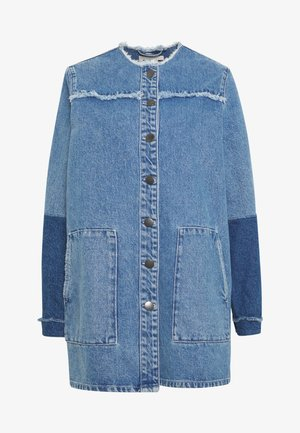 NORMA JACKET - Džínová bunda - blue denim
