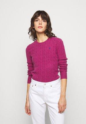 JULIANNA  - Sweter - pink/white