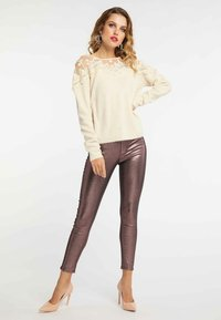 faina - Jumper - beige - 1