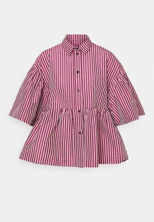 BALSAM BLOUSE TILES - Button-down blouse - rose