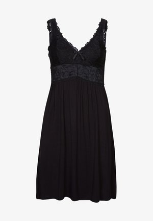 SLIPDRESS - Nattskjorte - black