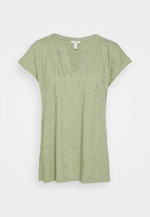 PINTUK - T-shirts med print - light khaki