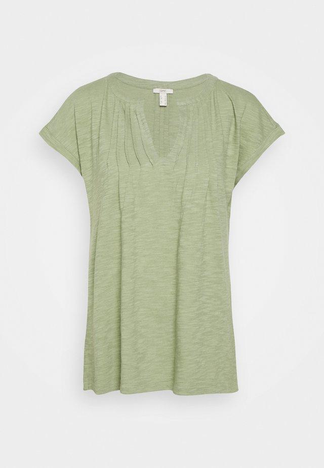 PINTUK - T-shirt con stampa - light khaki