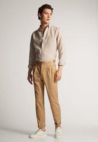 Massimo Dutti - Shirt - beige - 1