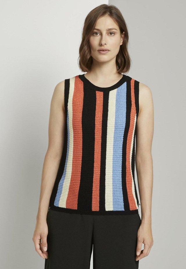 MIT STREIFENMU - Jumper - multcolor vertical stripe