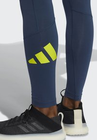adidas Performance - TURF 3 BAR LT PRIMEGREEN TECHFIT WORKOUT COMPRESSION LEGGINGS - Collants - blue - 3