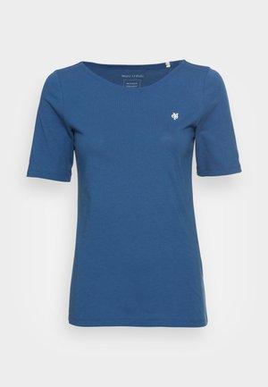 SHORT SLEEVE ROUND NECK - Jednoduché triko - lake blue