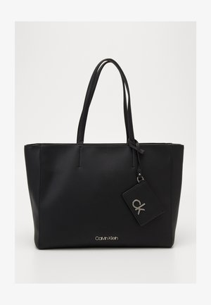 MUST SHOPPER SET - Tote bag - black