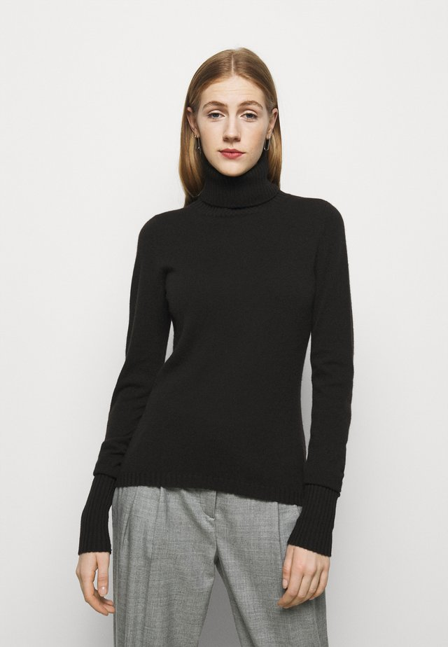 ROLLNECK - Trui - black tea