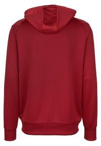 Umbro - Zip-up sweatshirt - chili pepper / vermillion - 1