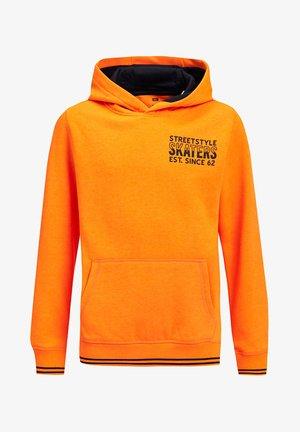 Hoodie - bright orange