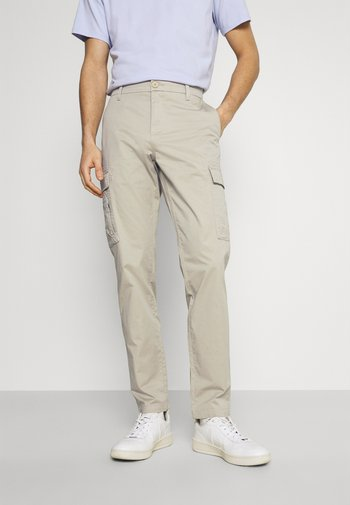 SMART TECH  - Cargo trousers - taupe sand