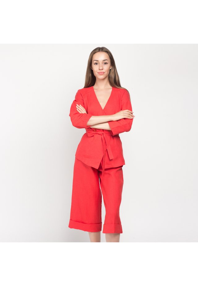 Tygbyxor - red