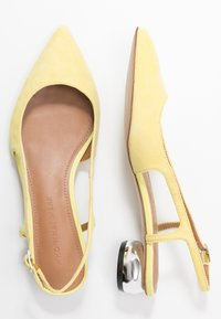 Who What Wear - EDEN - Classic heels - yellow - 3