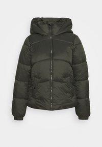 Vero Moda - VMUPSALA SHORT JACKET  - Winter jacket - peat - 0