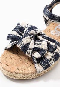 Cotton On - BOW  - Sandalen - navy blazer - 2