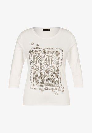 Long sleeved top - weiãŸ