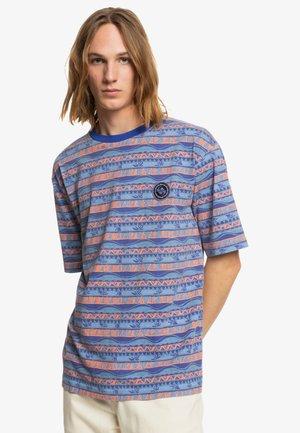 Print T-shirt - wedgewood greenmind