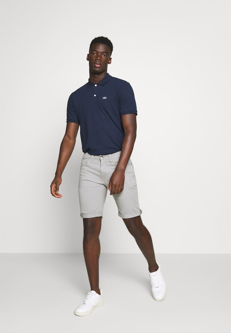 GAP - LOGO 2 PACK - Polo shirt - white/navy