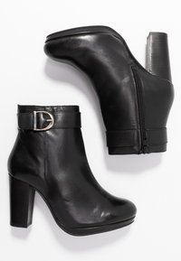 Faith - BROOKER - Bottines à talons hauts - black - 3