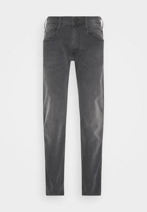 ANBASS HYPERFLEX RE-USED - Slim fit jeans - medium grey