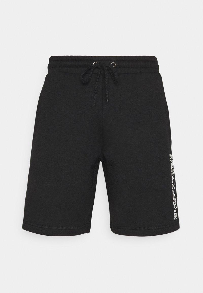 Santa Cruz - MIXED UP UNISEX - Shorts - black