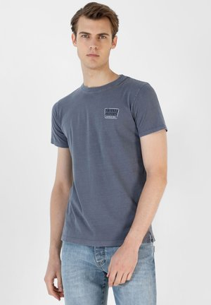 PRIVATE TEE - T-shirt print - blue
