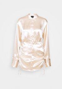 Gina Tricot Petite - SIDNEY SHIRT DRESS - Cocktailjurk - sandshell - 5