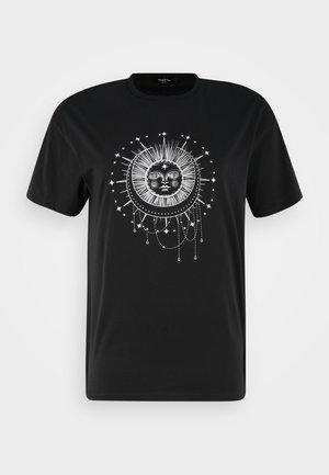 CELESTIAL  - Print T-shirt - black