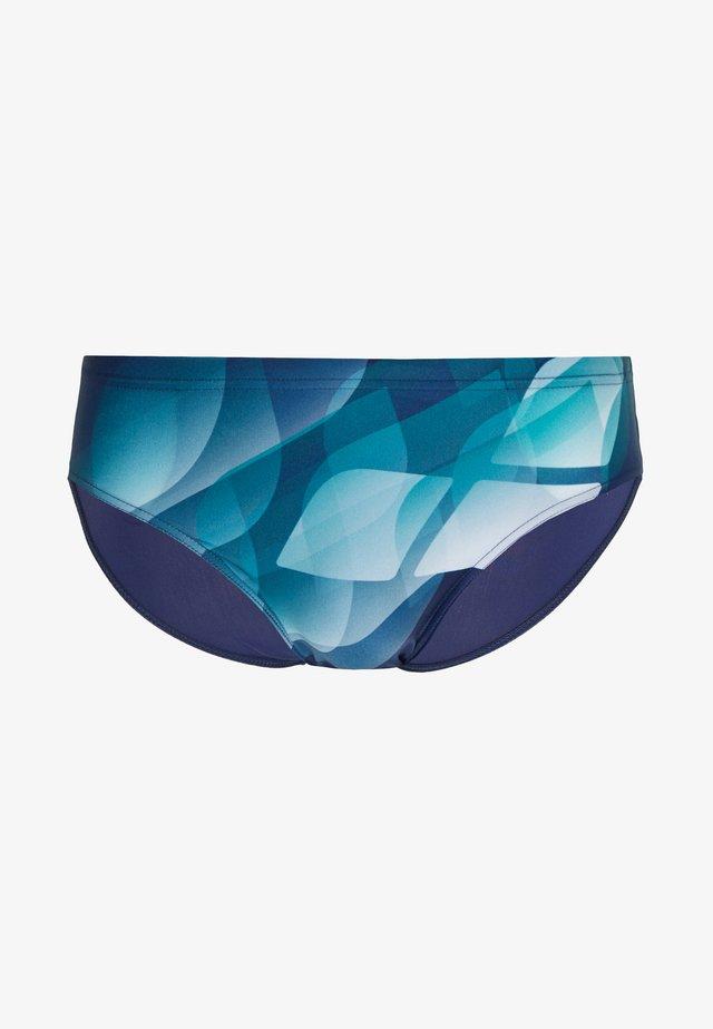 MIRRORS BRIEF - Swimming briefs - navy golf green