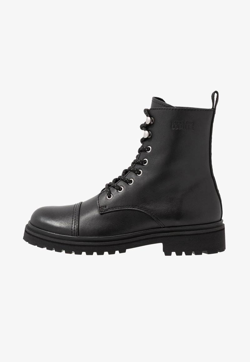 Versace Jeans Couture - Lace-up ankle boots - black
