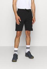 The North Face - RAINBOW SHORT - Pantalón corto de deporte - black - 0