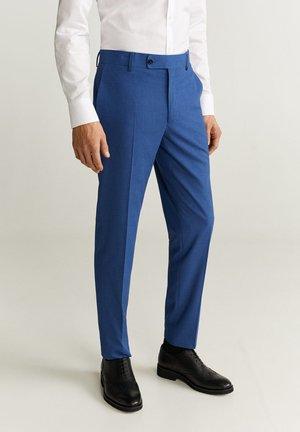 BRASILIA - Suit trousers - blue