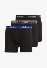 adidas Performance - BRIEFS 3 PAIRS - Panties - black - 8