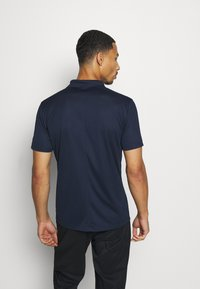 Nike Golf - DRY VICTORY SOLID SLIM - Sports shirt - obsidian/white - 2