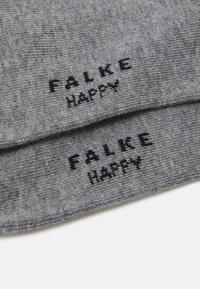 FALKE - HAPPY 2-PACK - Socks - light greymelange - 2
