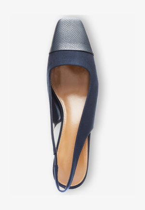 TOE CAP SLINGBACKS - Decolleté - dark blue
