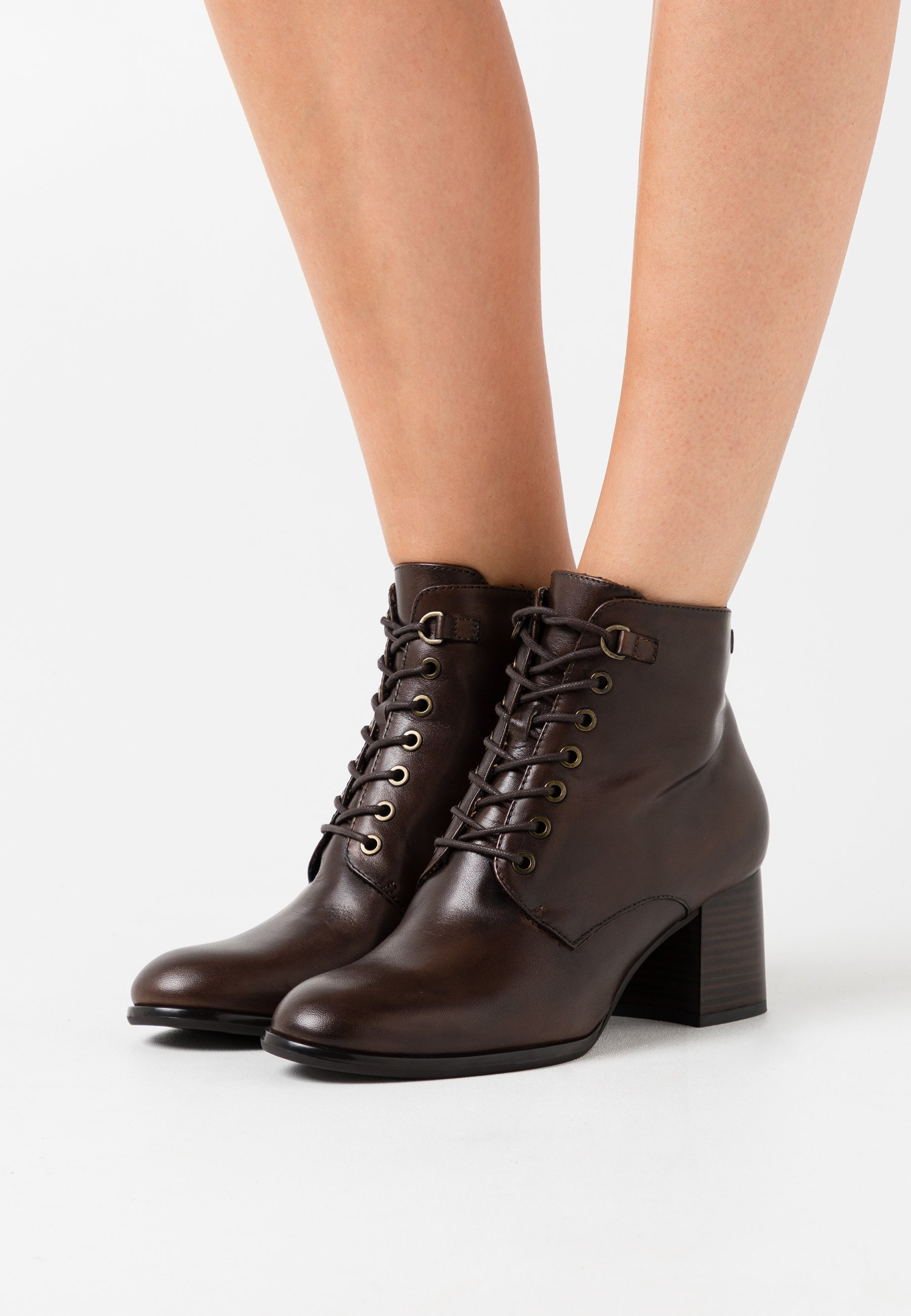 For Cheap Popular Women's Shoes s.Oliver BLACK LABEL Ankle boots brown Ih0Fg8WTw CqiCfowIM