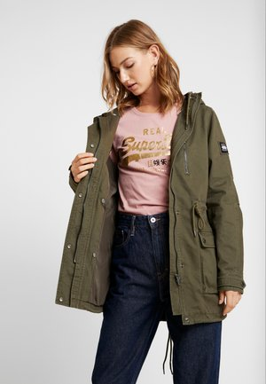 ARIZONA ROOKIE - Winter coat - washed khaki