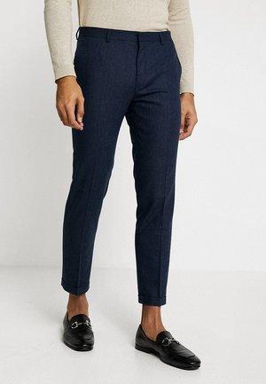 THIRSK  - Oblekové kalhoty - navy